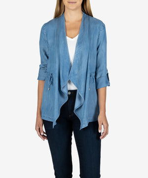 Victoria Draped Jacket-New-Kut From the Kloth