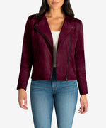 Dawn Moto Jacket (Raisin) Main Image