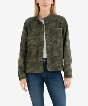 Cruz Camo Bomber-New-Kut from the Kloth