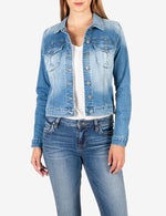 Amelia Denim Jacket (Adorn Wash) Main Image