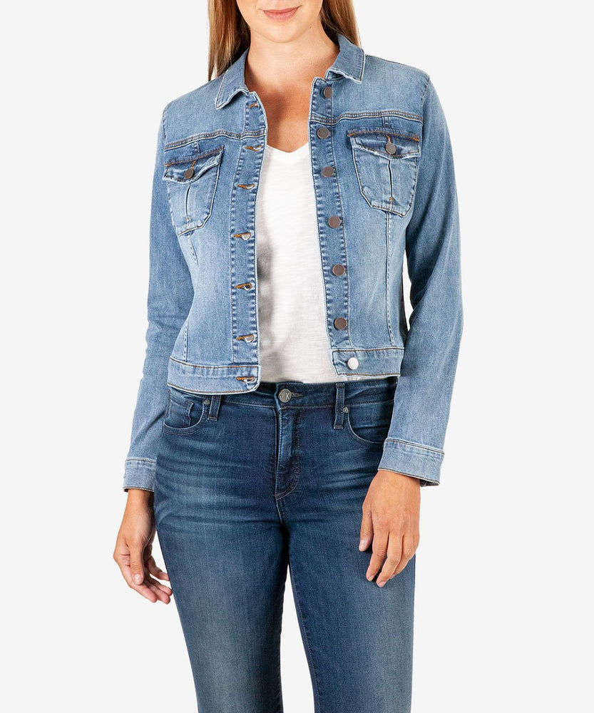Amelia Denim Jacket (Easygoing Wash)