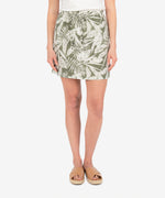 Drawcord Skirt (Tropical Print) Main Image