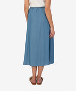Ayla Skirt (Medium Wash) Hover Image