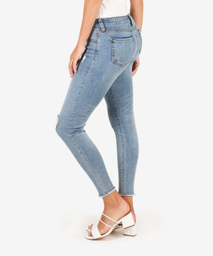 Connie Slim Fit Ankle Skinny (Unperturbed Wash)-Kut from the Kloth