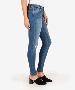Mia Slim Fit Skinny (Lighten Wash)-New-Kut from the Kloth
