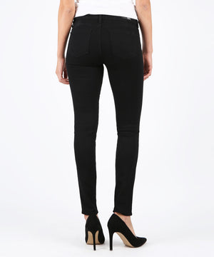 Diana Kurvy Relaxed Fit Skinny (Black)-Denim-Kut from the Kloth