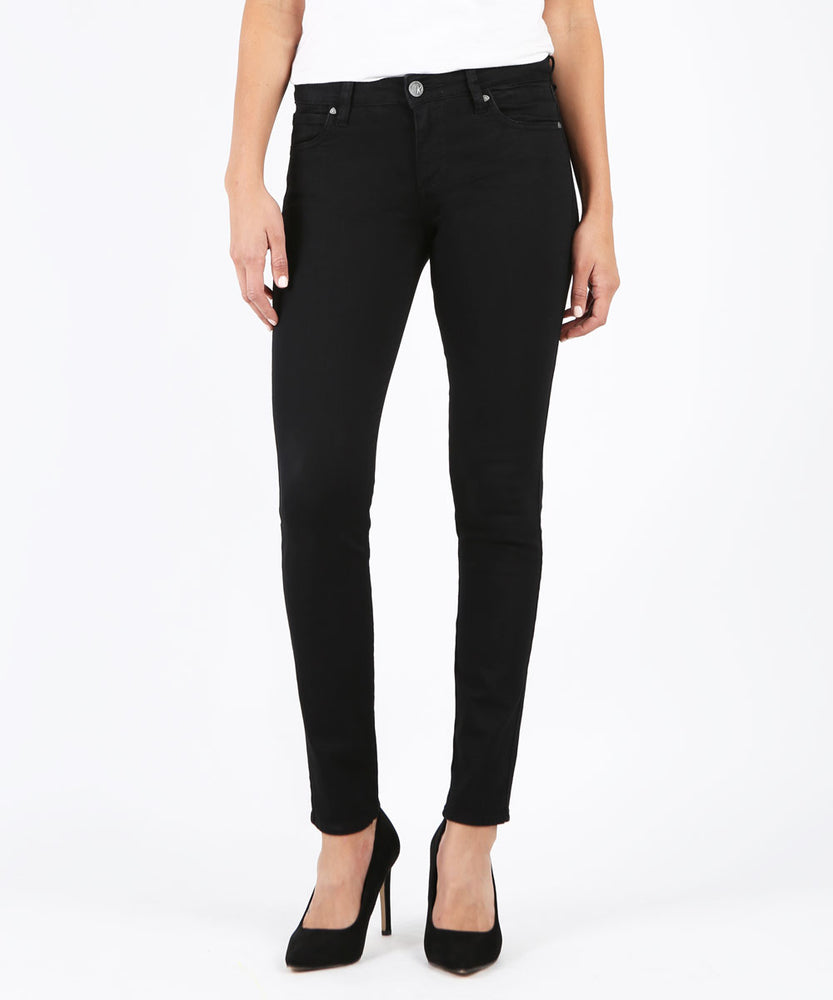 Diana Kurvy Relaxed Fit Skinny (Black)