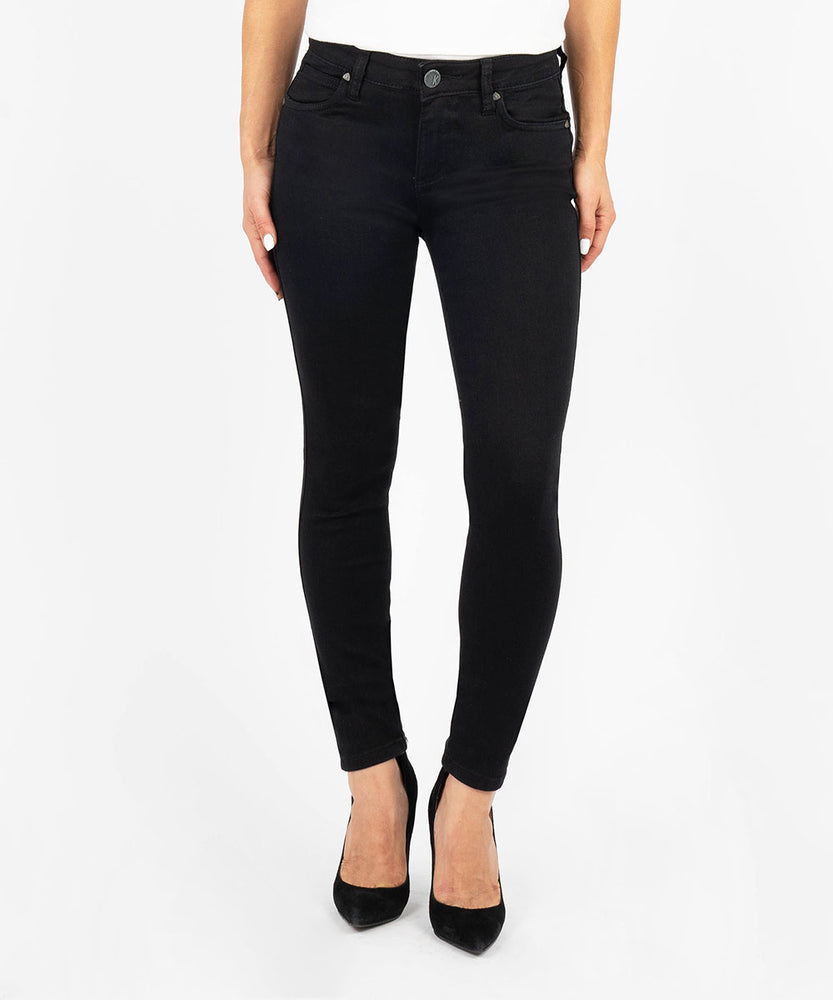 Diana Kurvy Relaxed Fit Skinny, Petite (Black)
