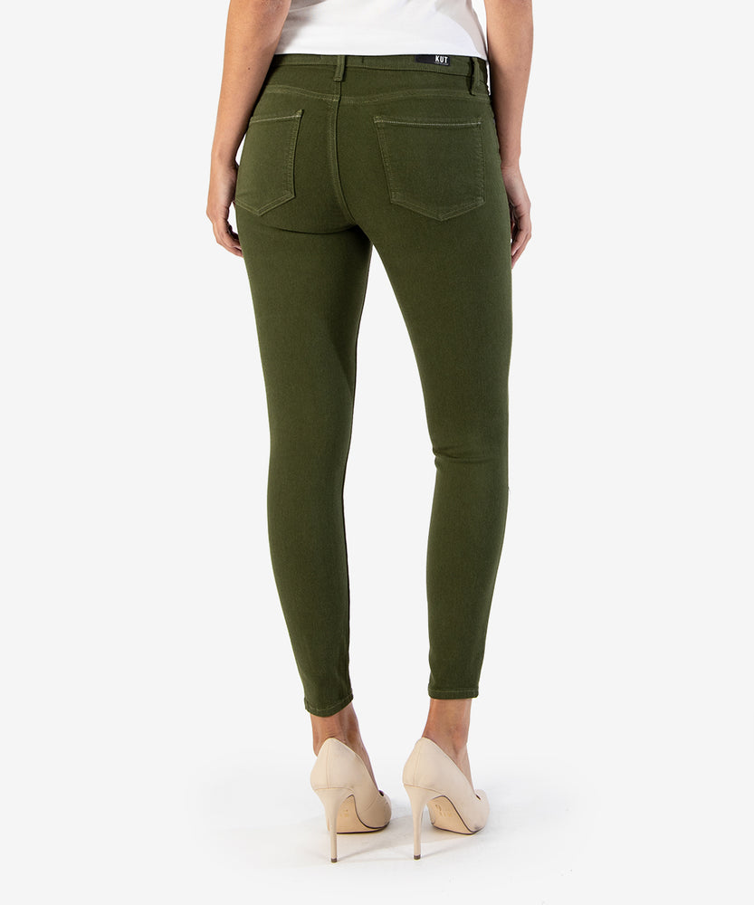 Connie Slim Fit Ankle Skinny, EXCLUSIVE (OLIVE)-Kut from the Kloth