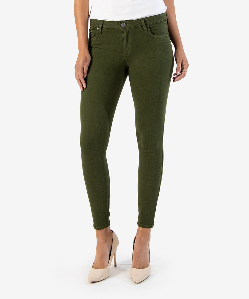Connie Slim Fit Ankle Skinny, EXCLUSIVE (OLIVE)