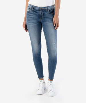 Connie Slim Fit Ankle Skinny, Exclusive (Fighter Wash)-Kut from the Kloth