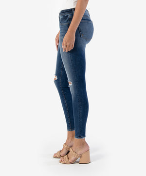 Connie Slim Fit Ankle Skinny, Exclusive (Deal Wash)-New-Kut from the Kloth