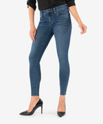 Connie Slim Fit Ankle Skinny (Black Ash Wash) Main Image