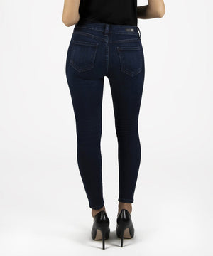 Connie Ankle Skinny, Petite (Influential Wash)-New-Kut from the Kloth