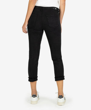 Amy Crop Straight Leg (Black)-New-Kut from the Kloth