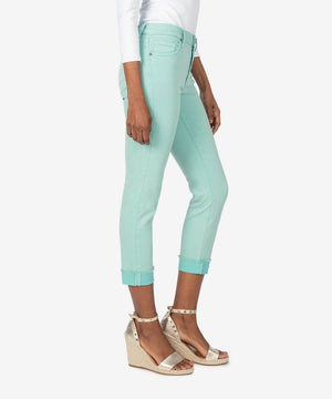 Amy Crop Straight Leg (Mint)-New]-Kut from the Kloth