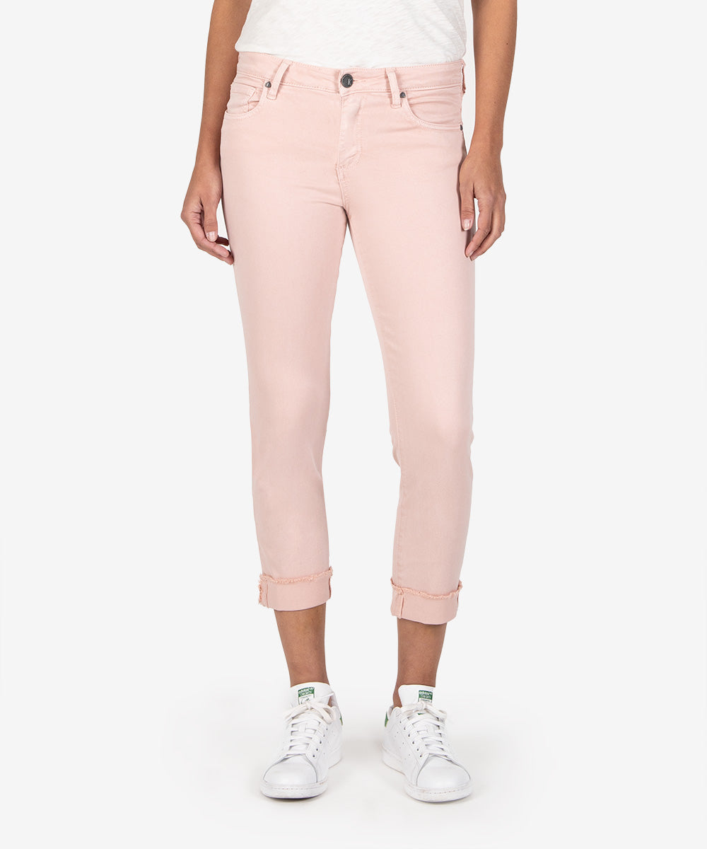 Amy Crop Straight Leg (Pink)