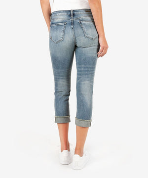 Amy Crop Straight Leg (Richness Wash)