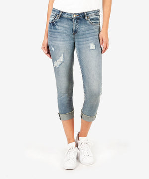 Amy Crop Straight Leg (Richness Wash)-Kut from the Kloth