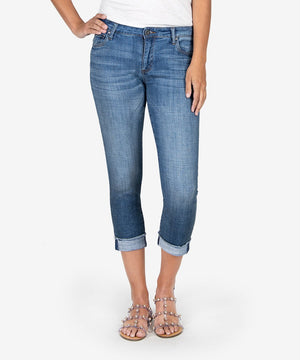 Amy Crop Straight Leg (Adaptable Wash)-Kut from the Kloth