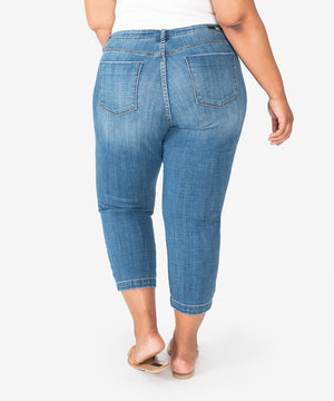 Lauren Crop Straight Leg, Plus (Started Wash)-Kut from the Kloth