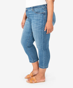 Lauren Crop Straight Leg, Plus (Started Wash)-New-Kut from the Kloth