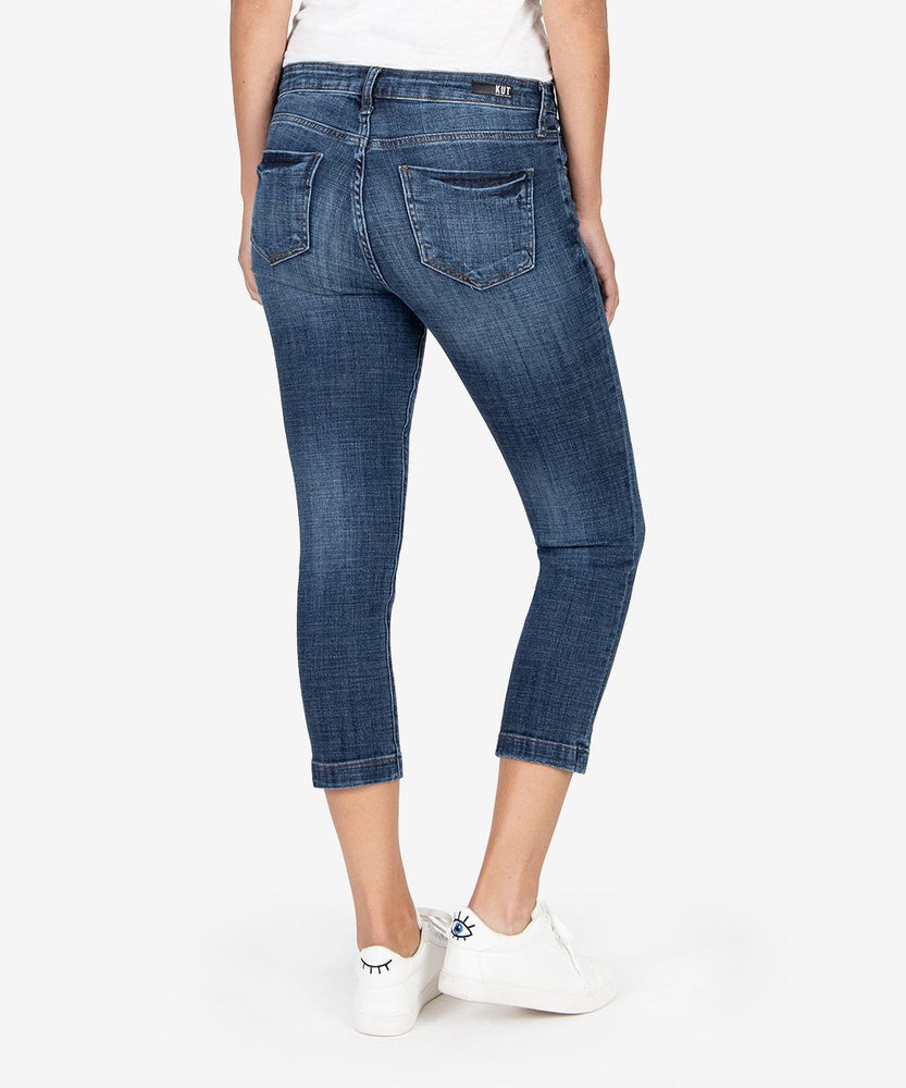 Lauren Crop Straight Leg (Collect Wash)-Kut from the Kloth