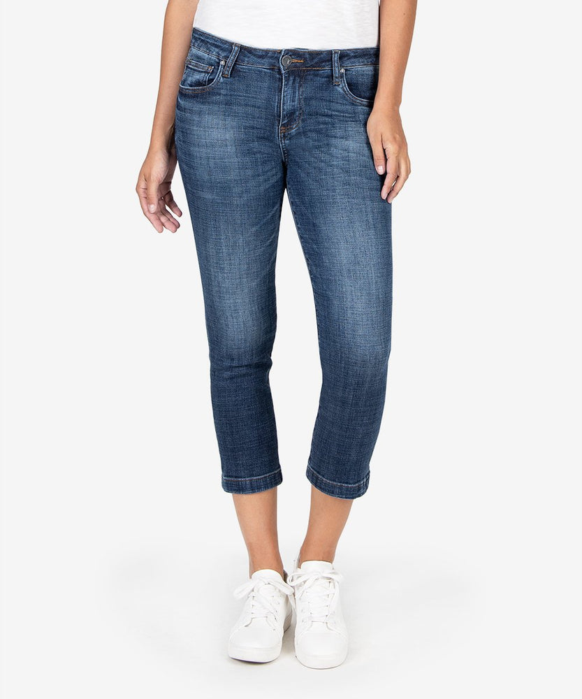 Lauren Crop Straight Leg (Collect Wash)