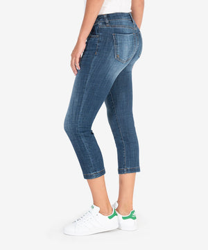 Lauren Crop Straight Leg (Vibes Wash)-New-Kut from the Kloth
