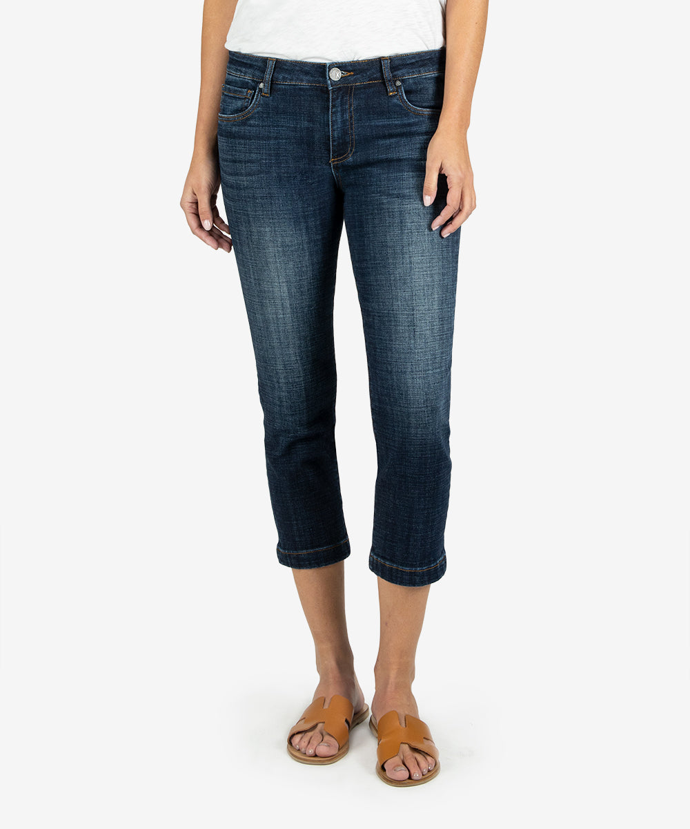 Lauren Crop Straight Leg (Rising Wash)