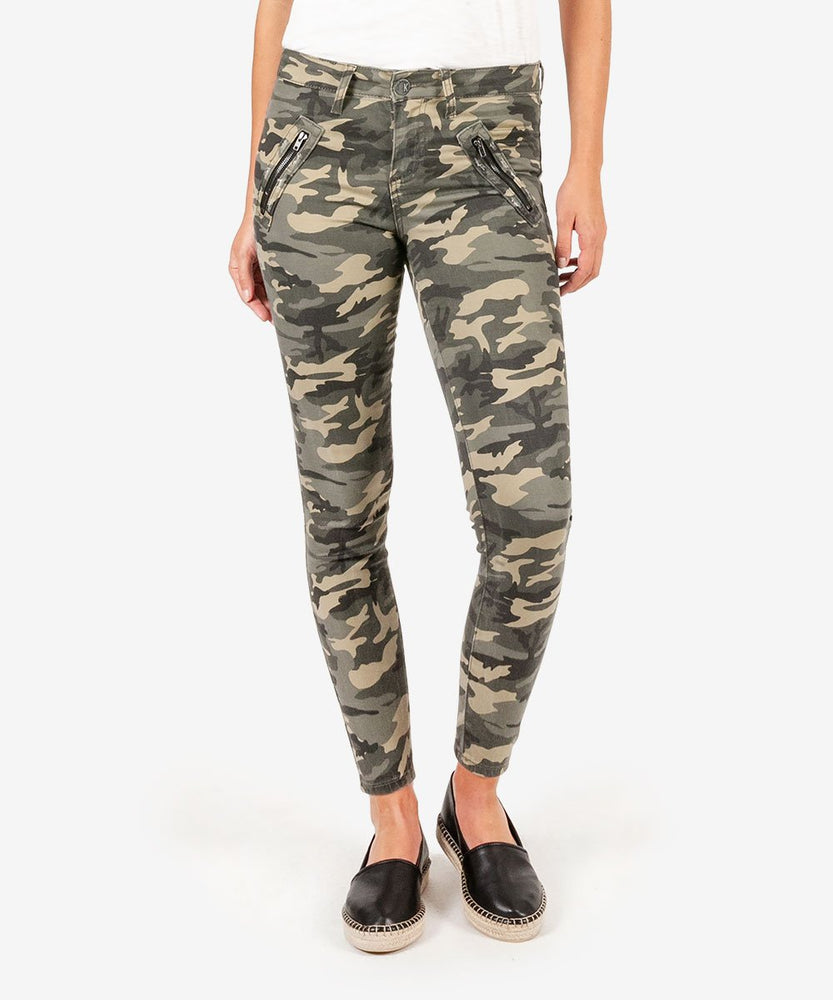 Connie Slim Fit Ankle Skinny (Sage)