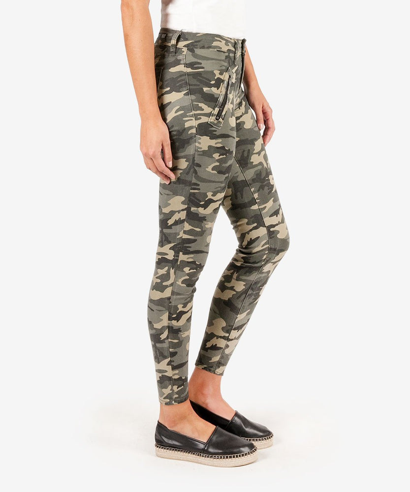 Connie Slim Fit Ankle Skinny (Sage)-Kut from the Kloth