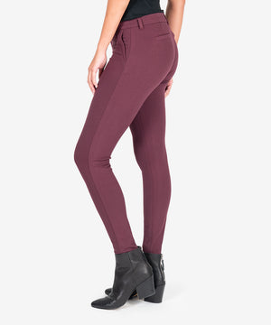Mia Knit Skinny (Port Wine)-New-Kut from the Kloth