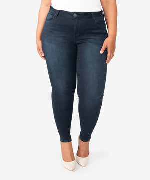 Donna High Rise Ankle Skinny, Plus (Paragon Wash)--Kut from the Kloth
