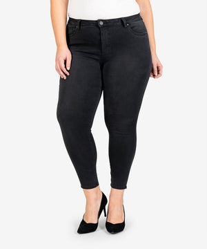 Donna High Rise Ankle Skinny, Plus (Realization Wash)-New-Kut from the Kloth