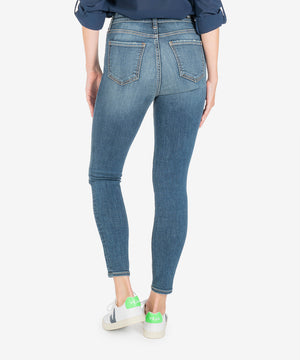 Donna High Rise Ankle Skinny (Instant Wash)-New-Kut from the Kloth