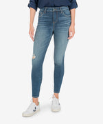 Donna High Rise Ankle Skinny (Instant Wash) Main Image