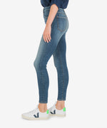 Donna High Rise Ankle Skinny (Instant Wash) Hover Image