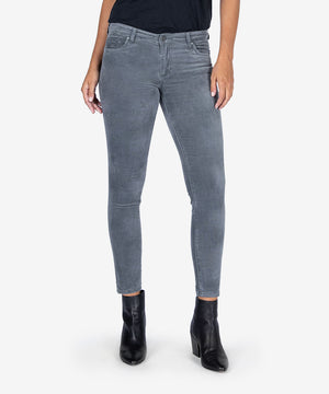 Donna Ankle Skinny (Grey)-Denim-Kut from the Kloth