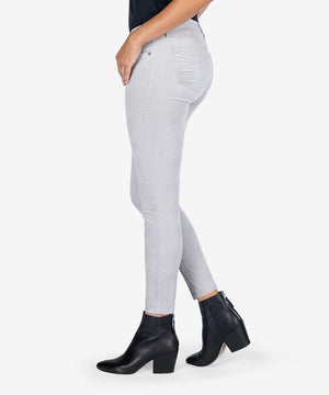 Donna Ankle Corduroy Skinny (Silver)-New-Kut from the Kloth