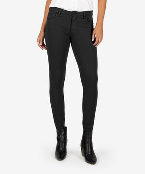 Donna Ponte Ankle Skinny (Black/Grey)-New-Kut from the Kloth
