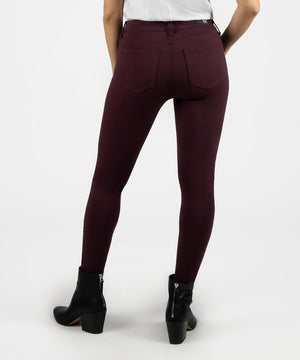 Donna Ankle Skinny (Port Wine)-Kut from the Kloth Denim