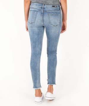 Connie Slim Fit Ankle Skinny (Loveliness Wash)-Kut from the Kloth