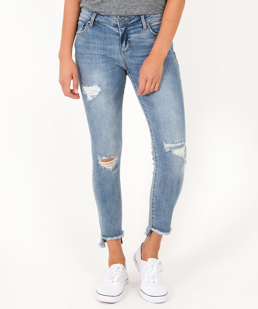 Connie Slim Fit Ankle Skinny (Loveliness Wash)