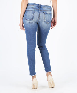 Connie Slim Fit Ankle Skinny With Step Fray Hem, Exclusive (Everything Wash)-Kut from the Kloth