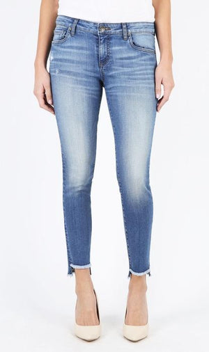 Connie Slim Fit Ankle Skinny With Step Fray Hem, Exclusive (Everything Wash)