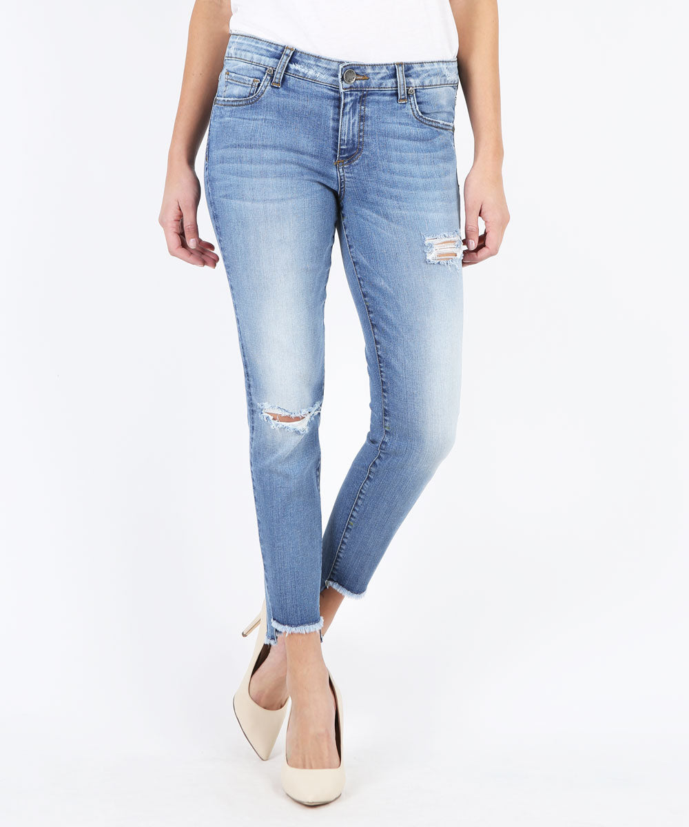 Connie Slim Fit Ankle Skinny, Exclusive (Literal Wash)