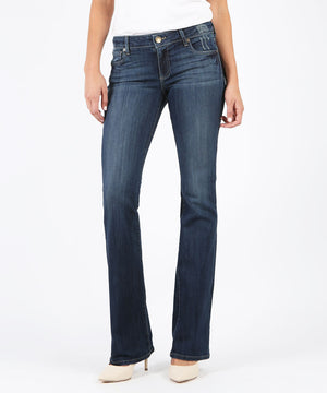 Natalie Bootcut, Long Inseam Exclusive (Accommodating Wash)-Denim-0-Accommodating Wash-Kut from the Kloth