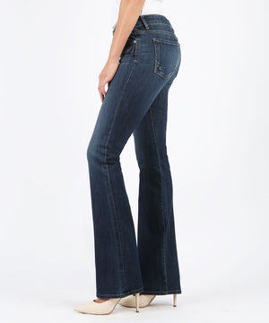Natalie Bootcut, Long Inseam Exclusive (Accommodating Wash)-Denim-Kut from the Kloth