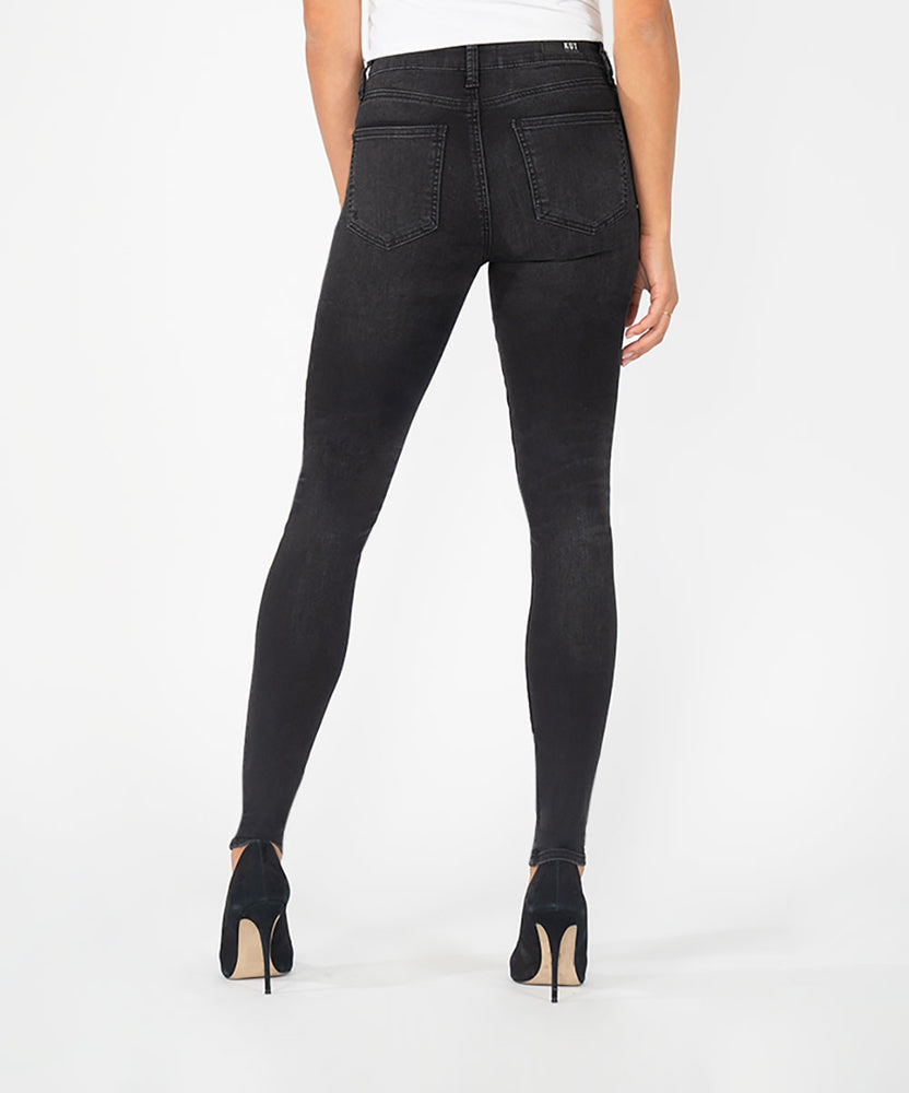 Mia High Rise Slim Fit Skinny (Fulfill Wash)-Kut from the Kloth